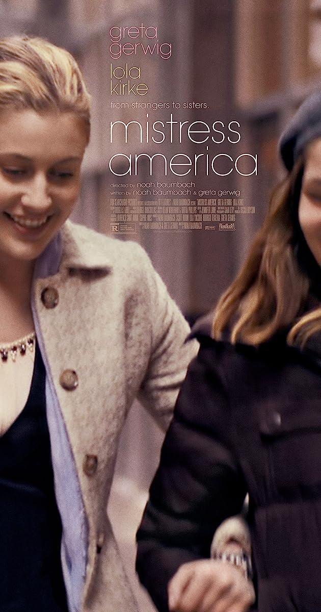 Panelė Amerika / Mistress America (2015) Online