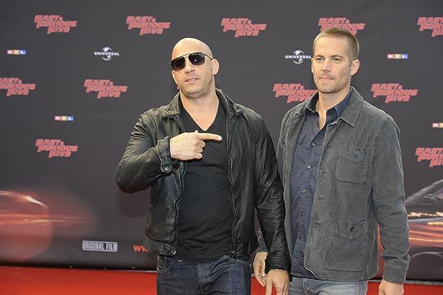Vin Diesel and Paul Walker at Fast Five (2011)