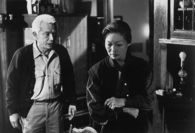 Mako and Nobu McCarthy in The Wash (1988)