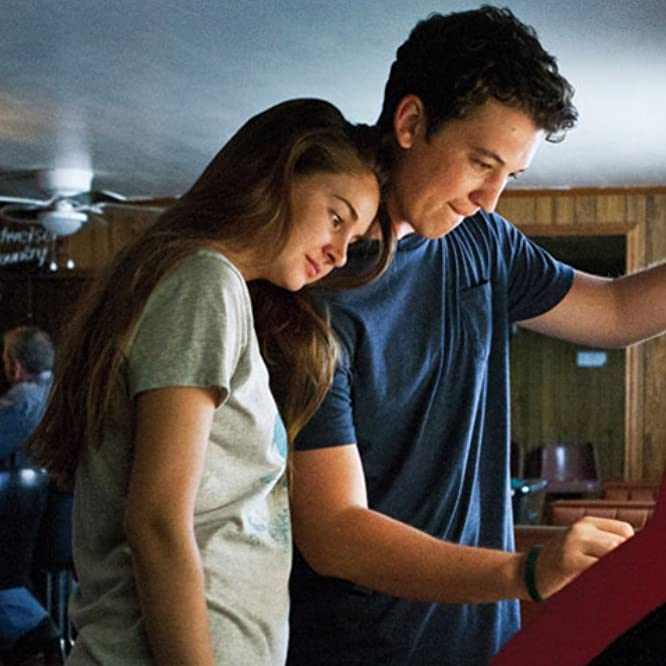 Shailene Woodley and Miles Teller in The Spectacular Now (2013)