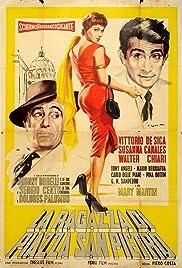 La ragazza di Piazza San Pietro Poster