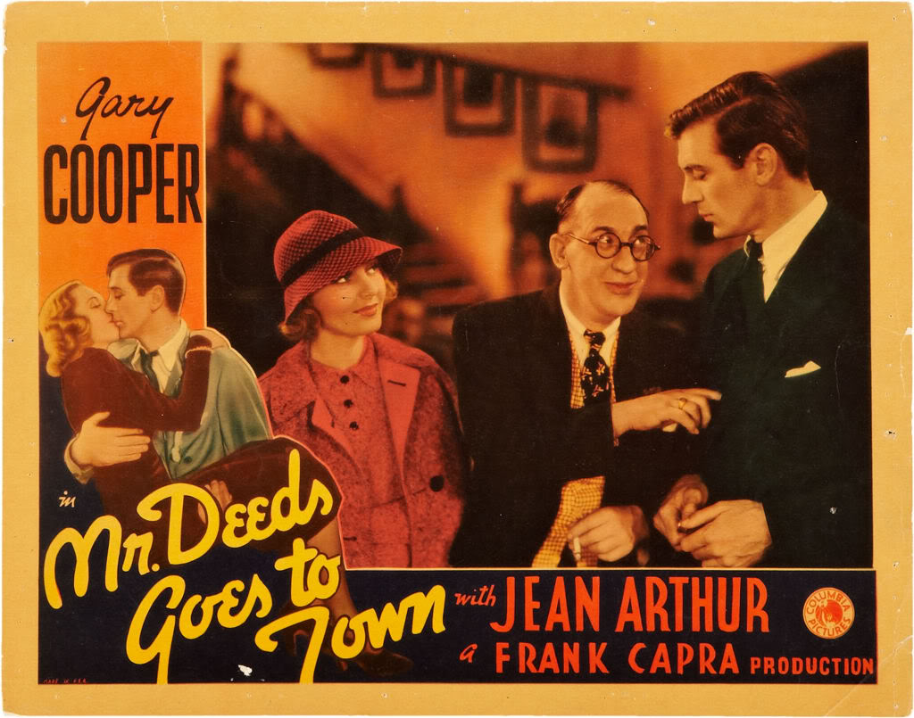 Mr. Deeds Goes to Town Mr Deeds Goes to Town 1936