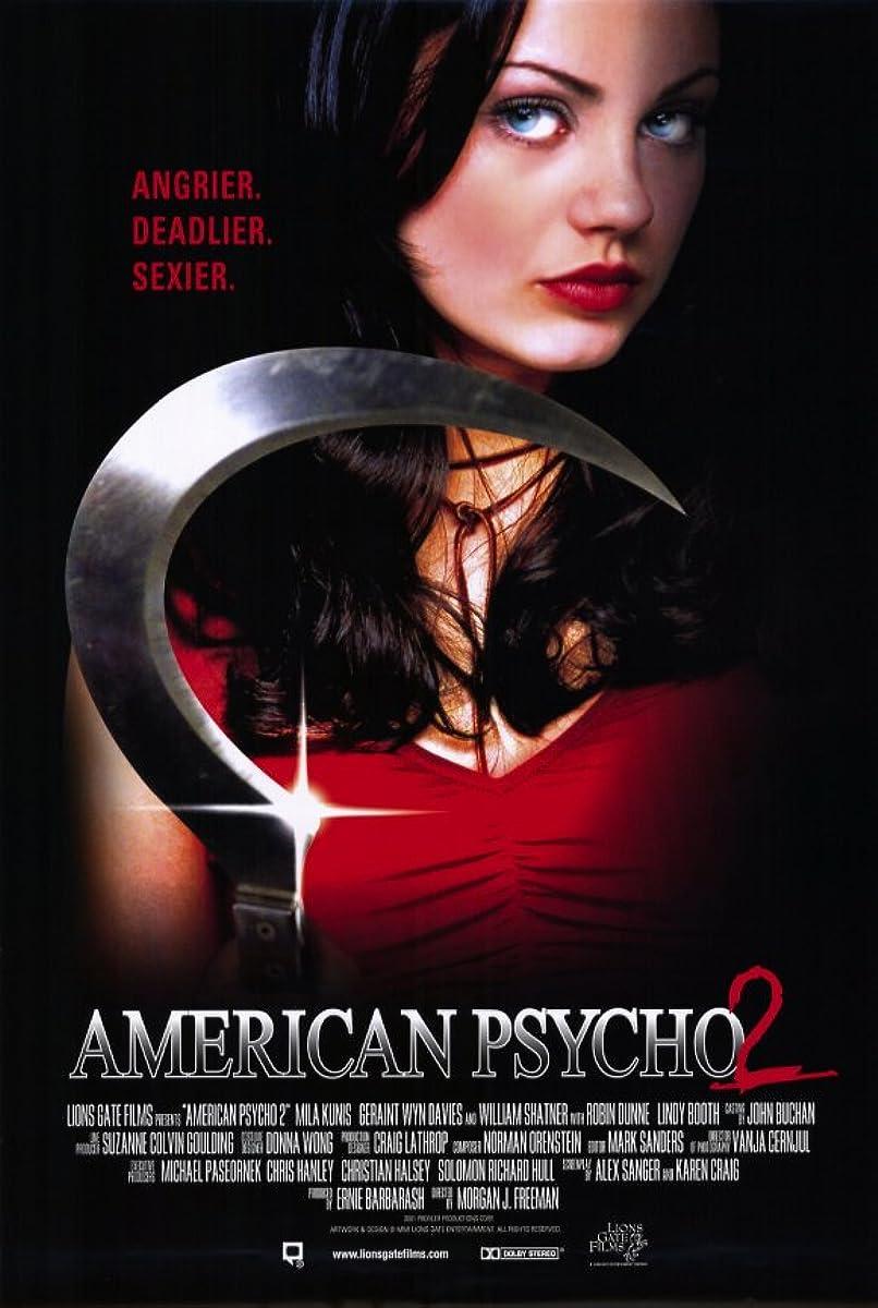 Amerikos psichopatė 2: tikra amerikietė