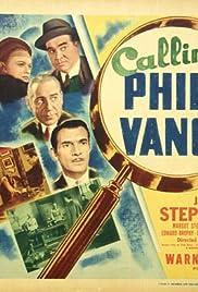 Calling Philo Vance Poster