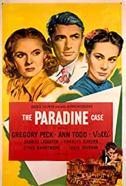The Paradine Case Poster
