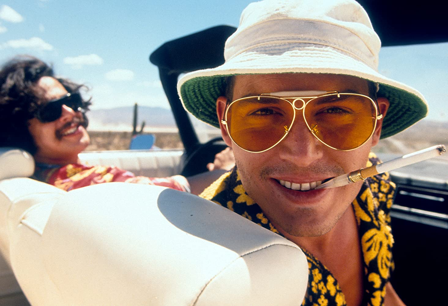 Johnny Depp and Benicio Del Toro in Fear and Loathing in Las Vegas (1998)