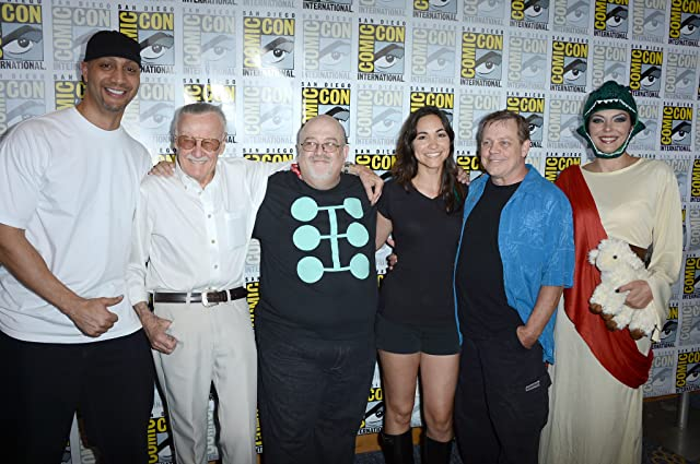 Mark Hamill, Allan David, Stan Lee, America Young, and Jace Hall