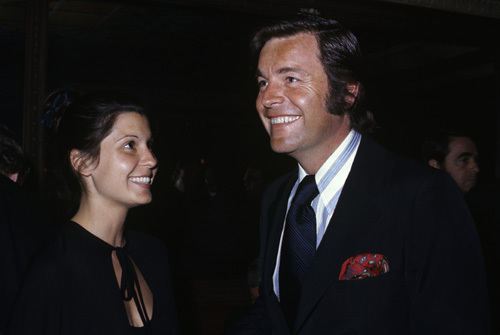 Robert Wagner and Tina Sinatra circa 1970s