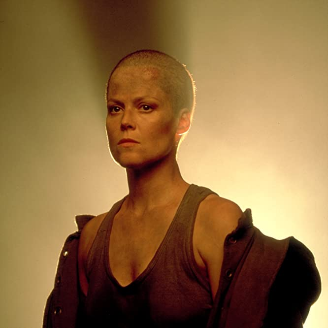 Sigourney Weaver in Alien 3 (1992)