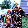 Deep Roy and Bud Damon clowning around on the set of THE BALLAD OF SANDEEP.