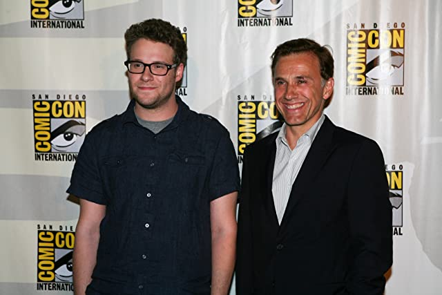 Seth Rogen and Christoph Waltz at an event for The Green Hornet (2011)