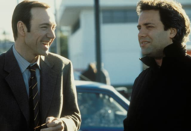Kevin Spacey and Sam Mendes in American Beauty (1999)