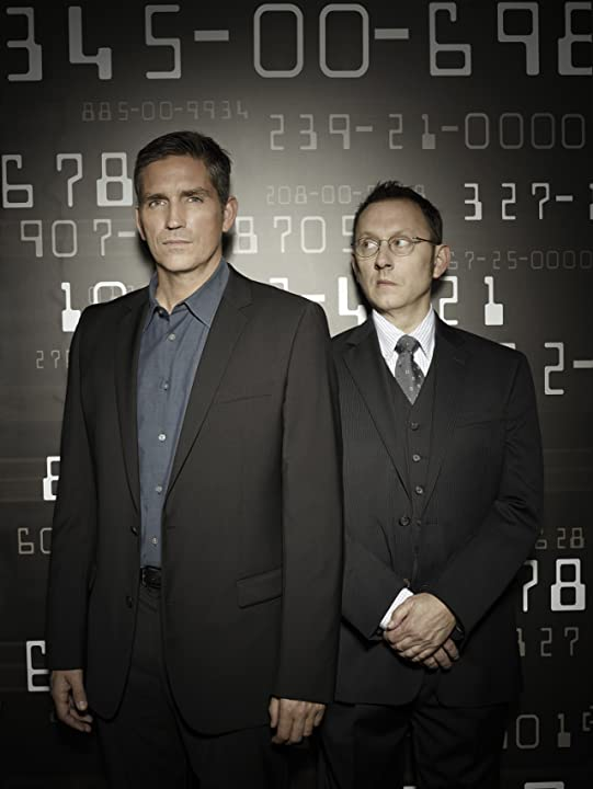Jim Caviezel and Michael Emerson in Person of Interest (2011)
