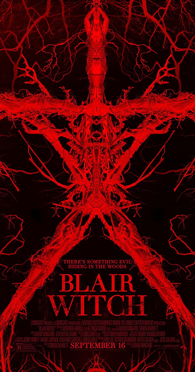 Bleiro ragana / Blair Witch (2016) Online