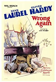 Wrong Again (1929) Poster - Movie Forum, Cast, Reviews