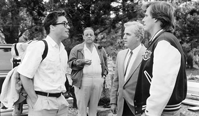 Jeff Daniels, Roy Brocksmith, James Handy, and Brian McNamara in Arachnophobia (1990)