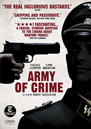 Army of Crime poster