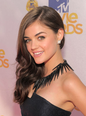 Lucy Hale at event of 2010 MTV Movie Awards