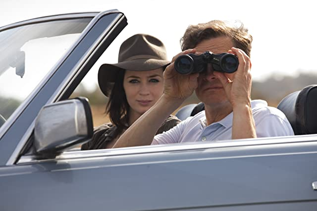 Colin Firth and Emily Blunt in Arthur Newman (2012)