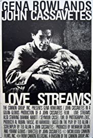 Love Streams (1984) Poster - Movie Forum, Cast, Reviews