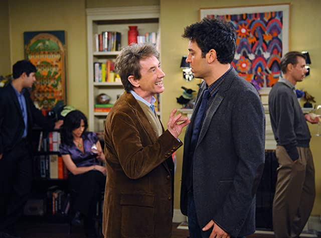 Martin Short and Josh Radnor in How I Met Your Mother (2005)