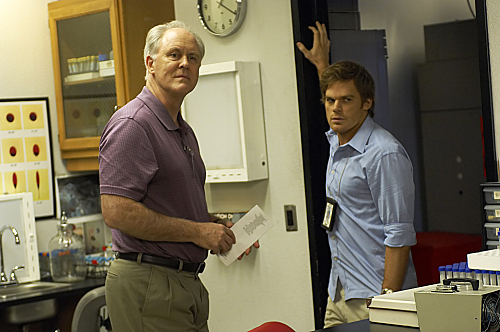 John Lithgow and Michael C. Hall in Dexter (2006)
