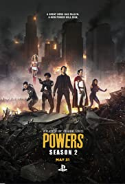Powers Poster - TV Show Forum, Cast, Reviews