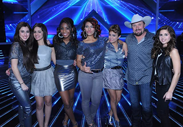 Carly Rose Sonenclar, Tate Stevens, and Fifth Harmony in The X Factor (2011)