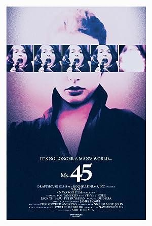 Poster Die Frau mit der 45er Magnum