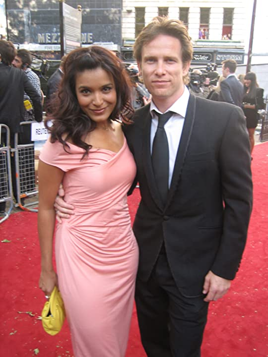 Sex & The City 2 Premiere - with wife Shelley Conn.