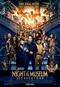 Night at the Museum: Secret of the Tomb 2014 Poster