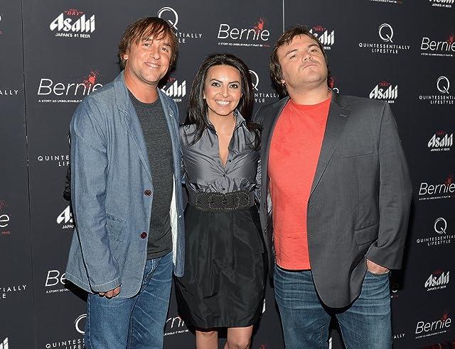 Richard Linklater, Jack Black, and Lisa Leyva at Bernie (2011)