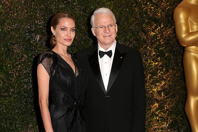 Steve Martin and Angelina Jolie