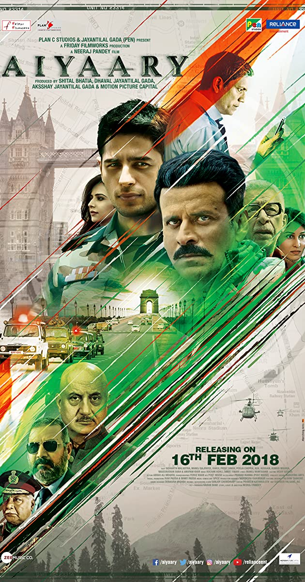 Image result for aiyaary poster