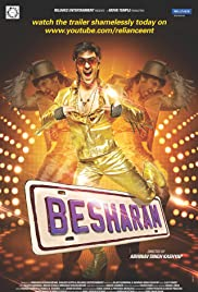 Besharam (2013) Poster - Movie Forum, Cast, Reviews