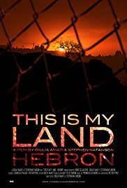 This is My Land... Hebron Poster