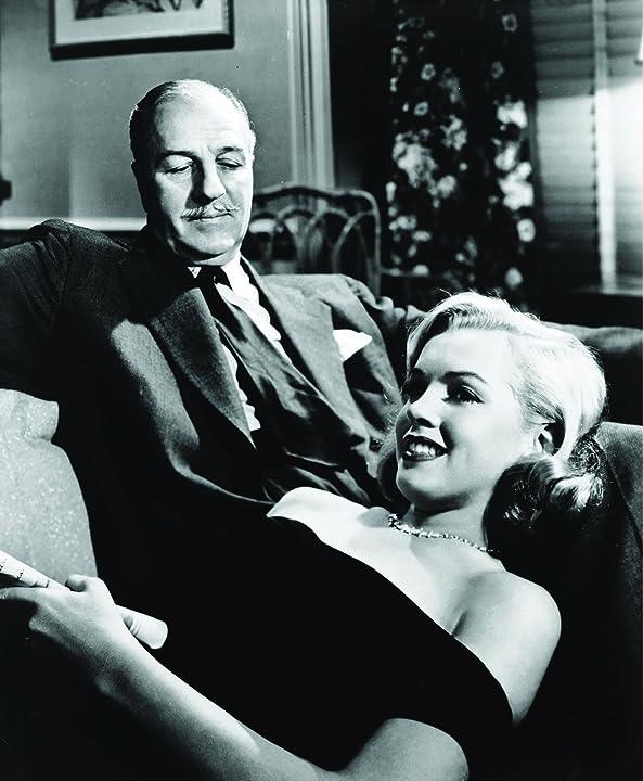 Marilyn Monroe and Louis Calhern in The Asphalt Jungle (1950)