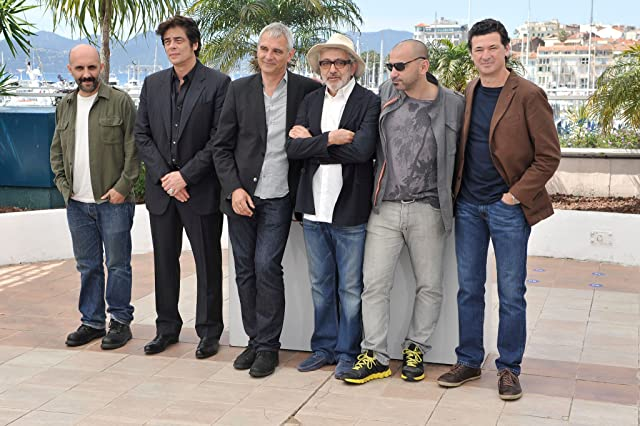 Benicio Del Toro, Laurent Cantet, Julio Medem, Gaspar Noé, Elia Suleiman, and Pablo Trapero at 7 Days in Havana (2012)
