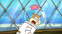 Sandy, SpongeBob, and the Worm/Squid on Strike