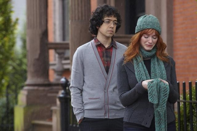 Geoffrey Arend and Christina Hendricks in Body of Proof (2011)
