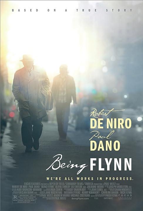 Robert De Niro and Paul Dano in Being Flynn (2012)
