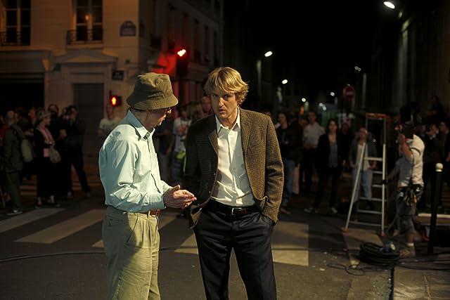 Woody Allen and Owen Wilson in Midnight in Paris (2011)