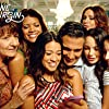 Jaime Camil, Ivonne Coll, Andrea Navedo, Gina Rodriguez, Tina Casciani, Veronica Merrell, and Vanessa Merrell in Jane the Virgin (2014)