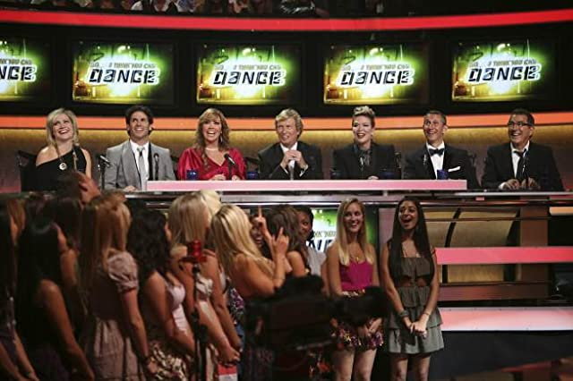 Tyce Diorio, Nigel Lythgoe, Kenny Ortega, Adam Shankman, Mia Michaels, Mary Murphy, and Stacey Tookey in So You Think You Can Dance (2005)