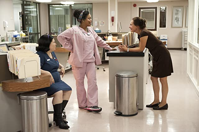 Alex Borstein, Laurie Metcalf, and Niecy Nash in Getting On (2013)