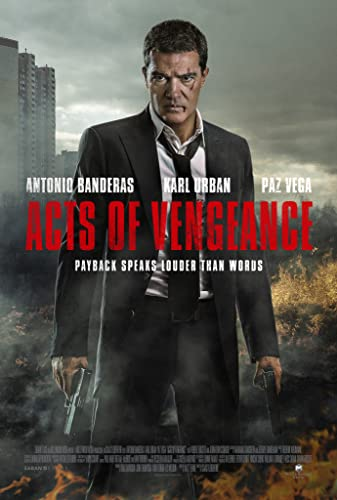Poster Film Acts Of Vengeance