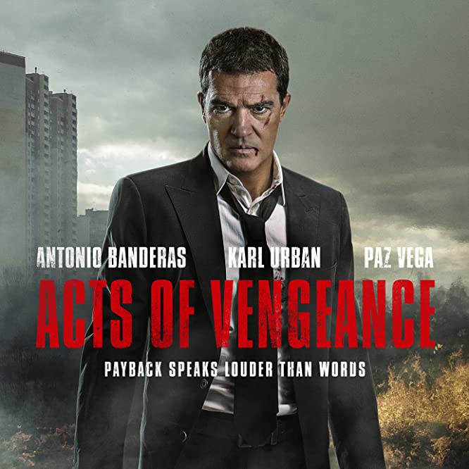 Antonio Banderas in Acts Of Vengeance (2017)