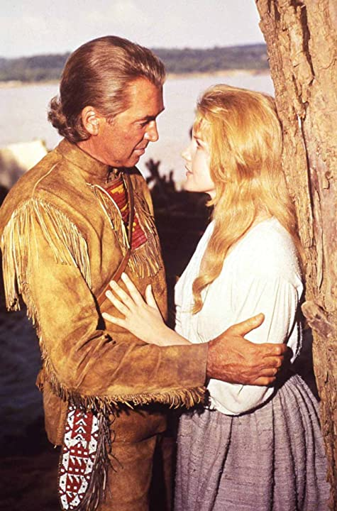 James Stewart and Carroll Baker in How the West Was Won (1962)