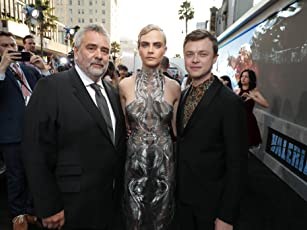 Luc Besson, Dane DeHaan, and Cara Delevingne at an event for Valerian and the City of a Thousand Planets (2017)