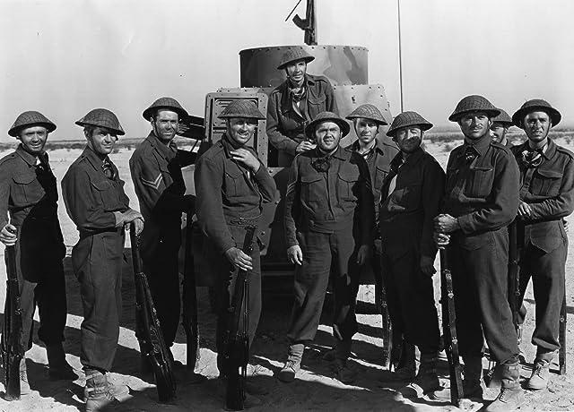 Henry Fonda, Reginald Gardiner, Allyn Joslyn, Peter Lawford, and Thomas Mitchell in Immortal Sergeant (1943)